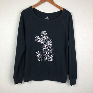 Disney Parks Mickey sequin sweater